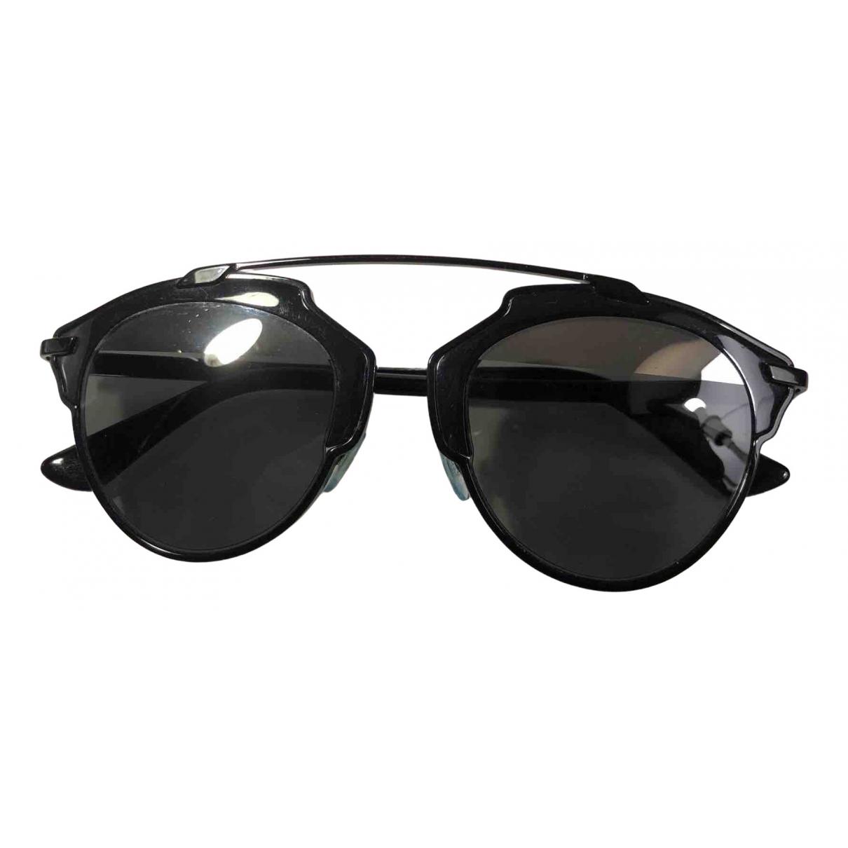Dior So Real  Sonnenbrillen in  Schwarz Kunststoff