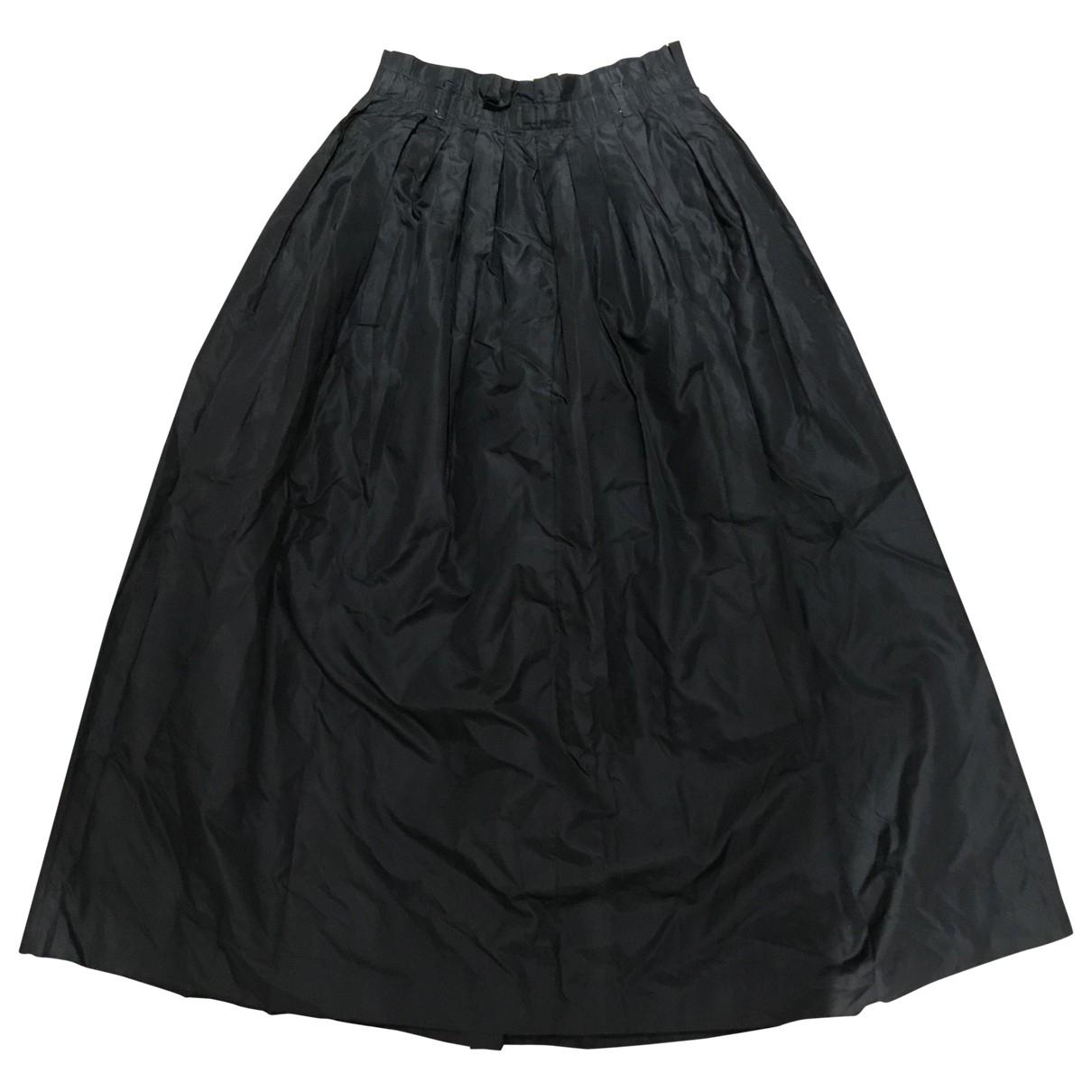 Cerruti - Jupe   pour femme en soie - noir