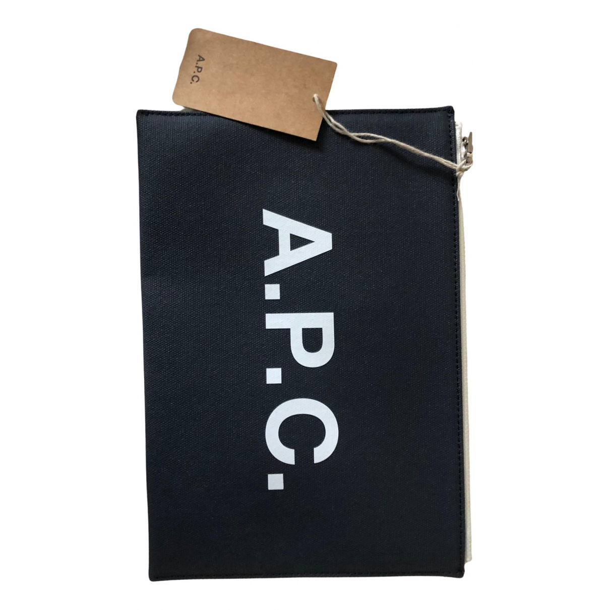 Apc - Pochette   pour femme en coton - marine