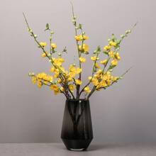 1 rama flor de ciruela artificial