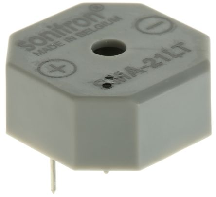 Sonitron 1.5 → 15 V 90dB Through Hole Multifunction Internal Buzzer, 3285 → 3315 Hz