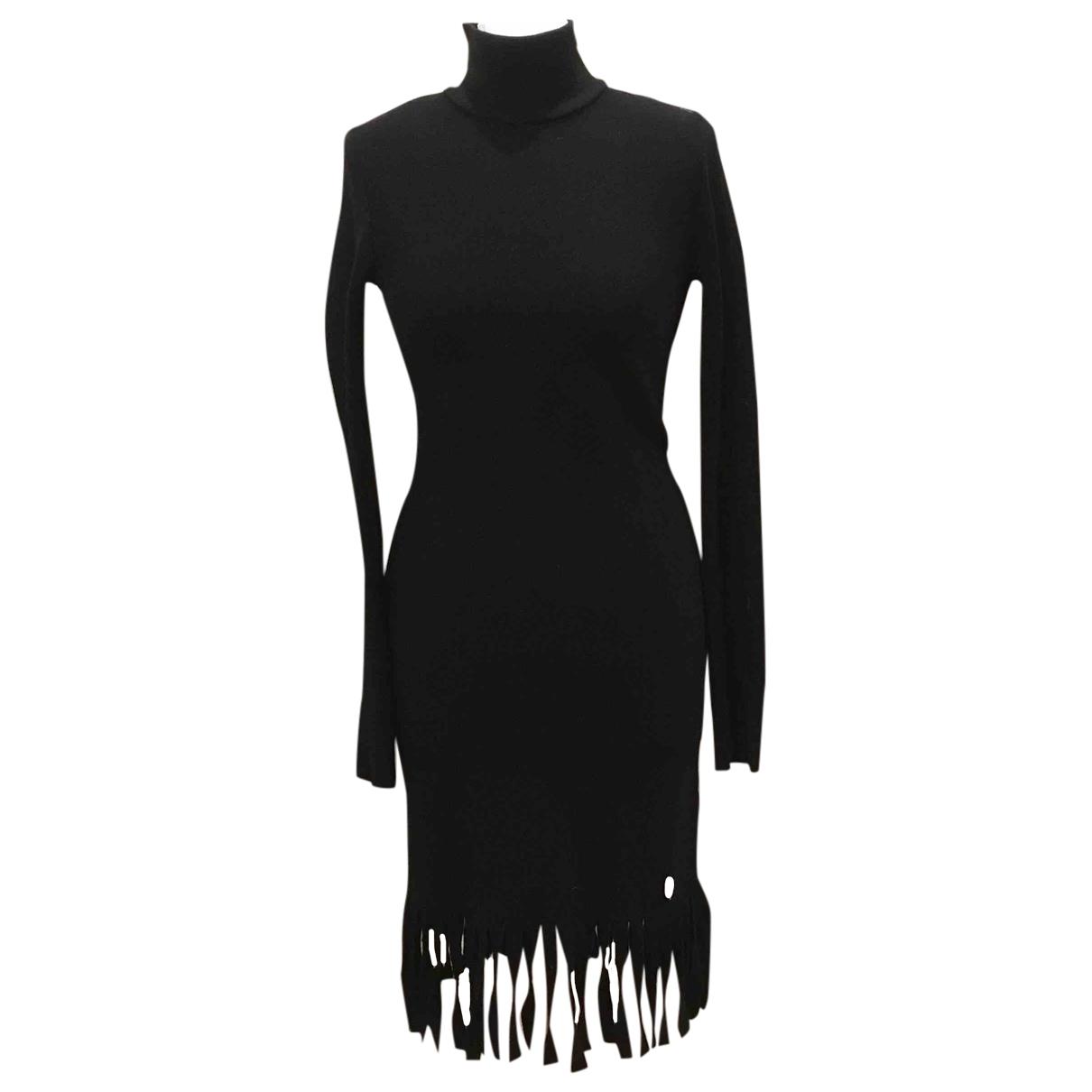 Blumarine - Robe   pour femme en laine - noir