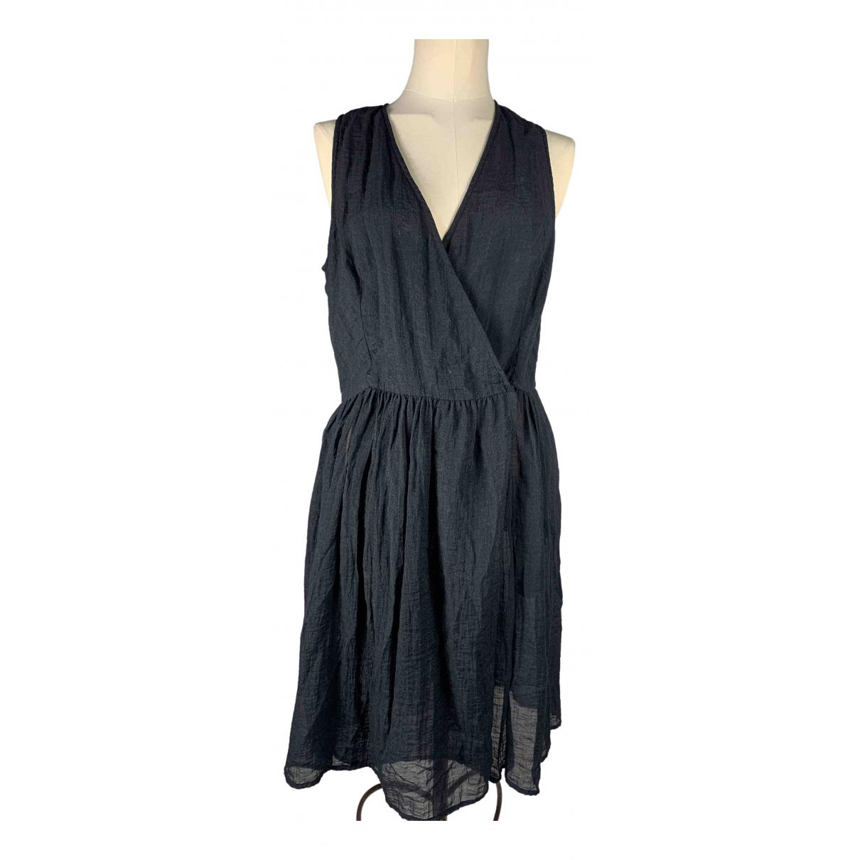 Sonia Rykiel \N Kleid in  Schwarz Viskose