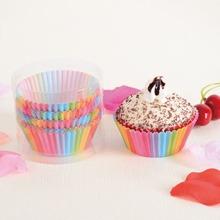 100 Stuecke Pappbecher fuer Cupcake