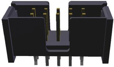 TE Connectivity , AMP-LATCH, 10 Way, 2 Row, Straight PCB Header