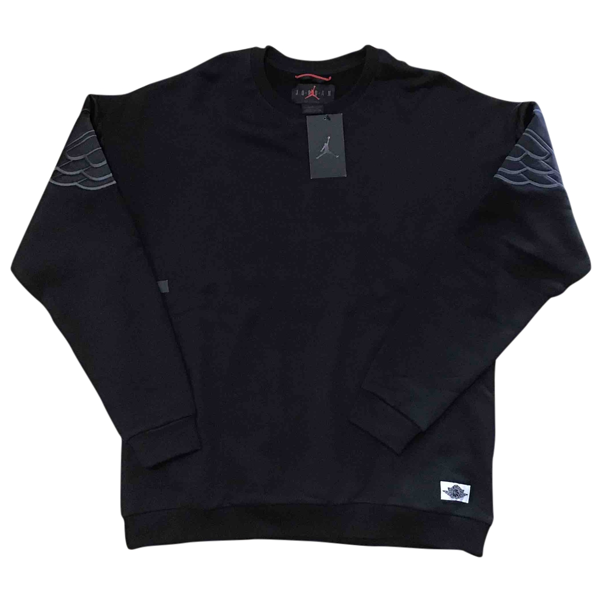 Jordan \N Pullover.Westen.Sweatshirts  in  Schwarz Baumwolle