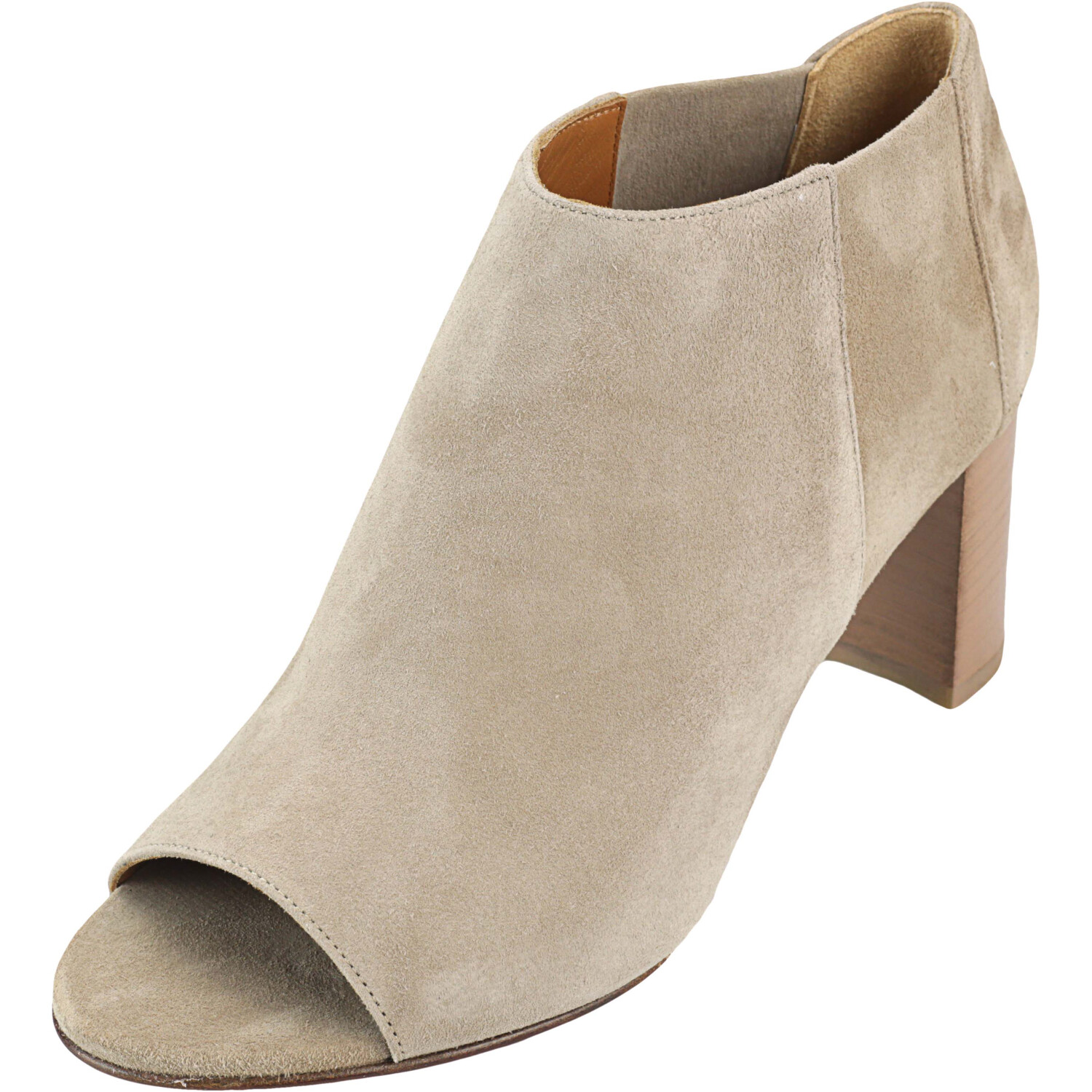 Aquatalia Women's Shaw Suede Almond Ankle-High Boot - 5.5M