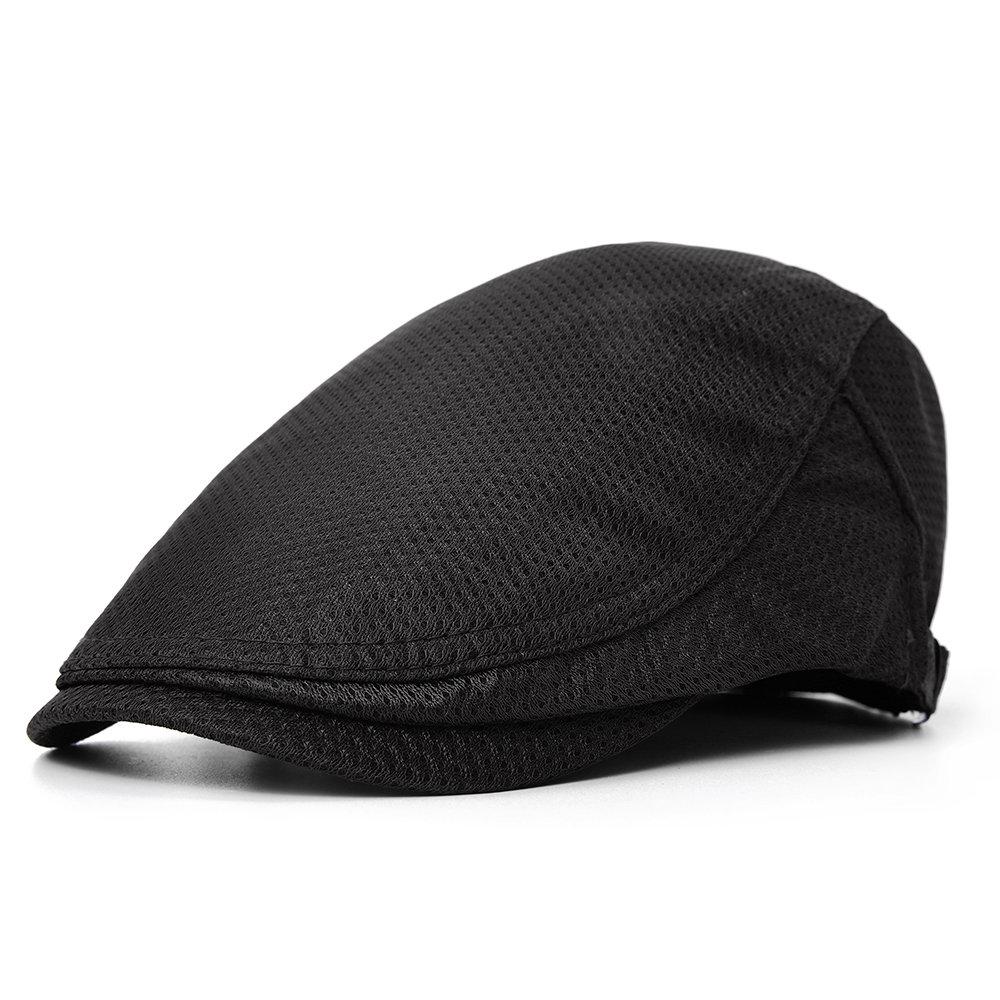 Men Women Retro Breathable Polyester Beret Hat Adjustable Casual Wild Forward Hat