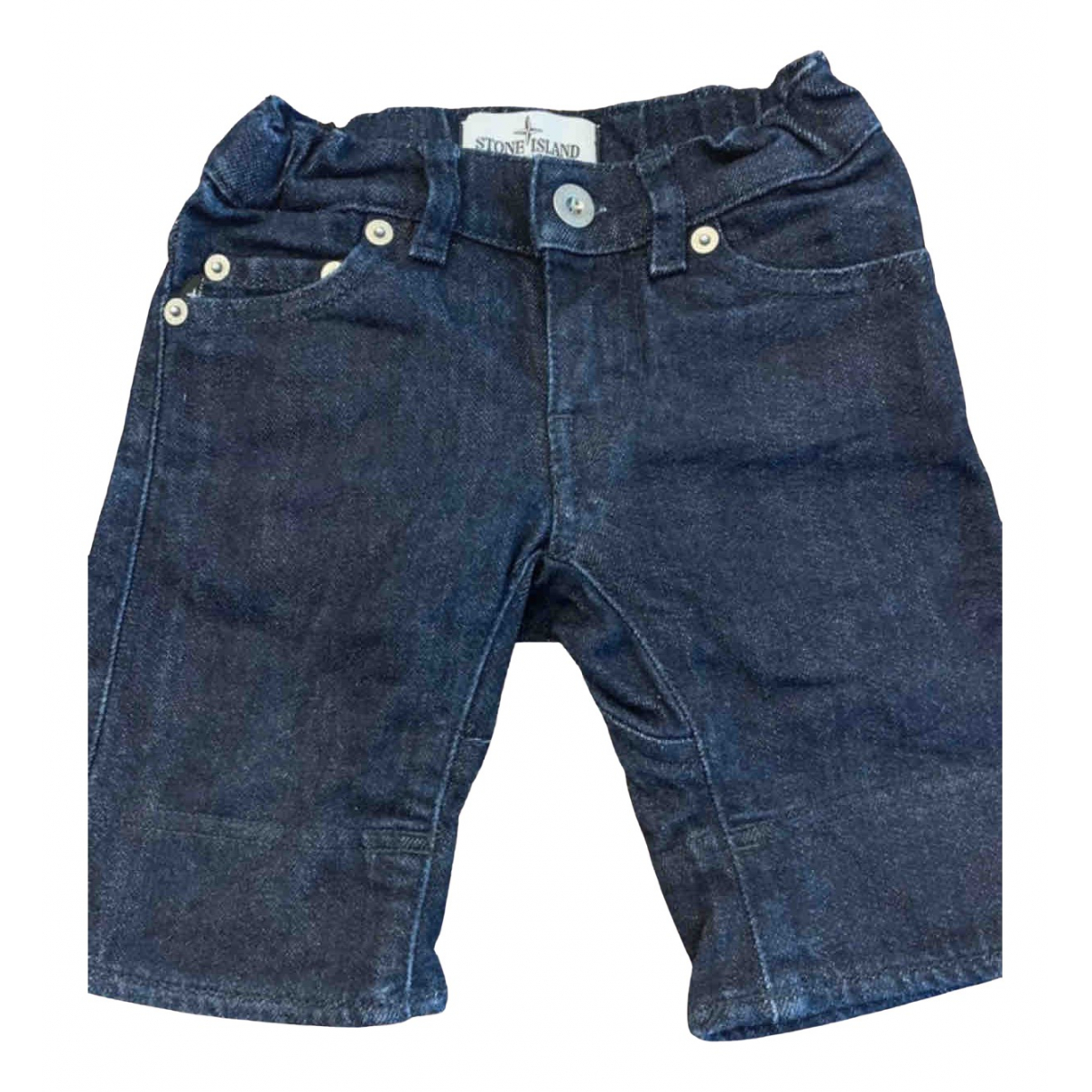 Stone Island \N Blue Denim - Jeans Shorts for Kids 2 years - up to 86cm FR