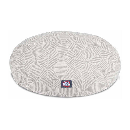 Majestic Pet Charlie Round Pet Bed, One Size , Beige