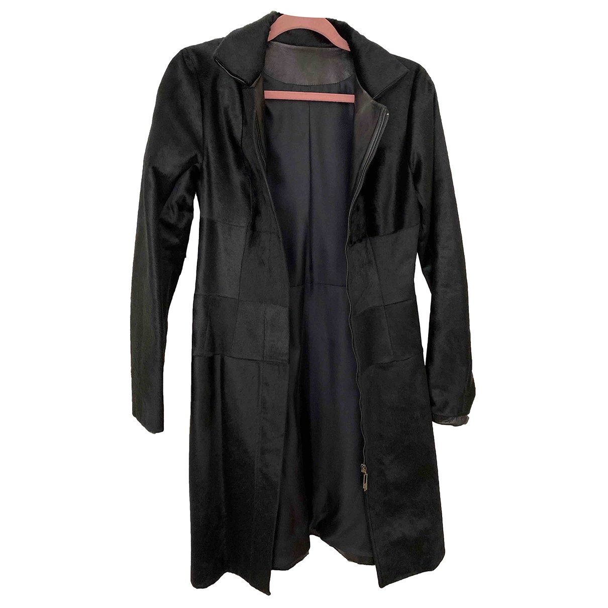 Amanda Wakeley \N Black Fur coat for Women XS International