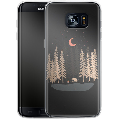 Samsung Galaxy S7 Edge Silikon Handyhuelle - Feeling Small von ND Tank