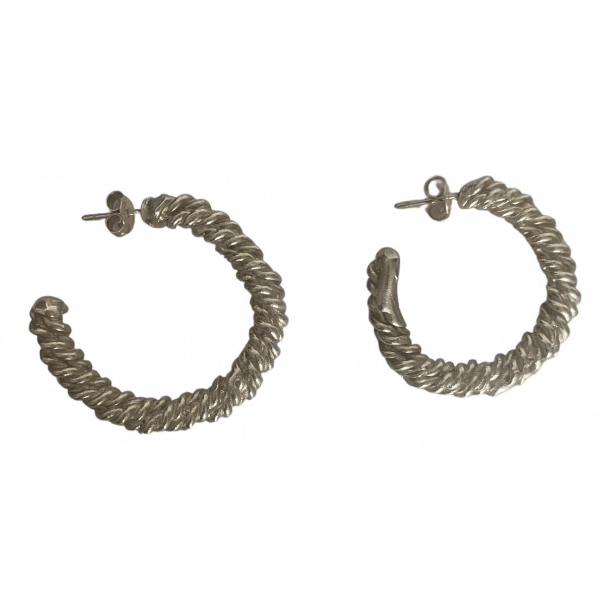 Alighieri - Boucles doreilles   pour femme en argent - argente