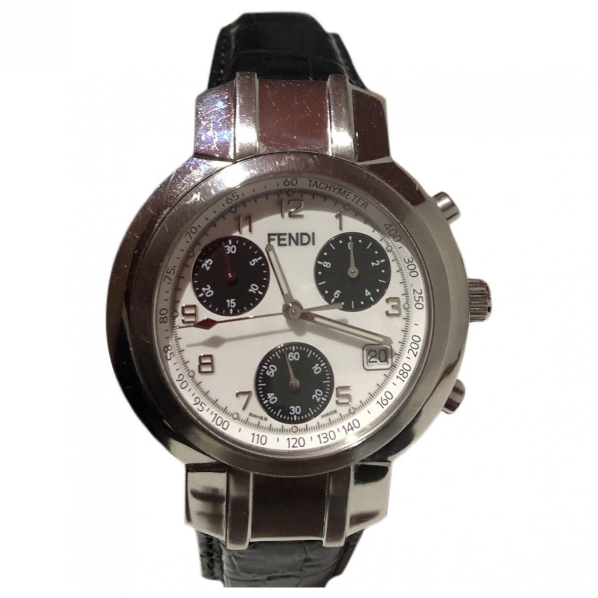 Fendi \N Uhr in  Silber Stahl