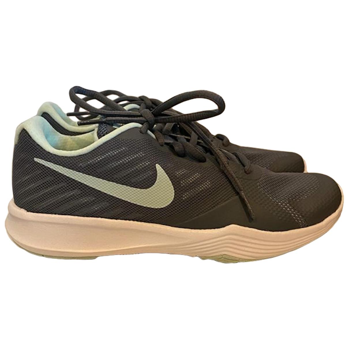 Nike - Baskets   pour femme - gris