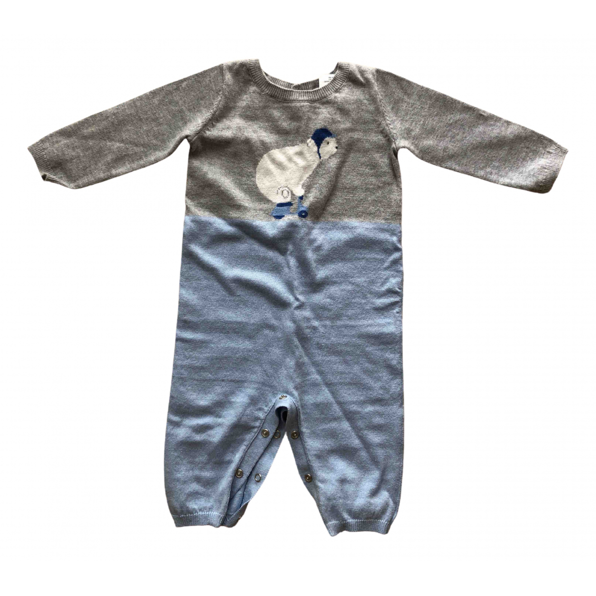 Jacadi \N Blue Cotton Knitwear for Kids 6 months - up to 67cm FR