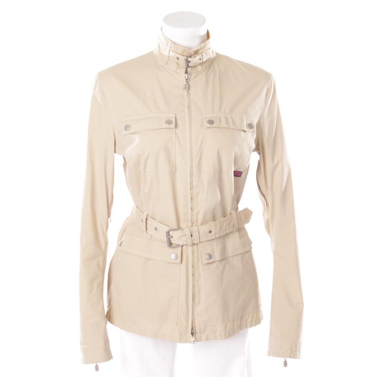 Belstaff - Veste   pour femme en coton - beige