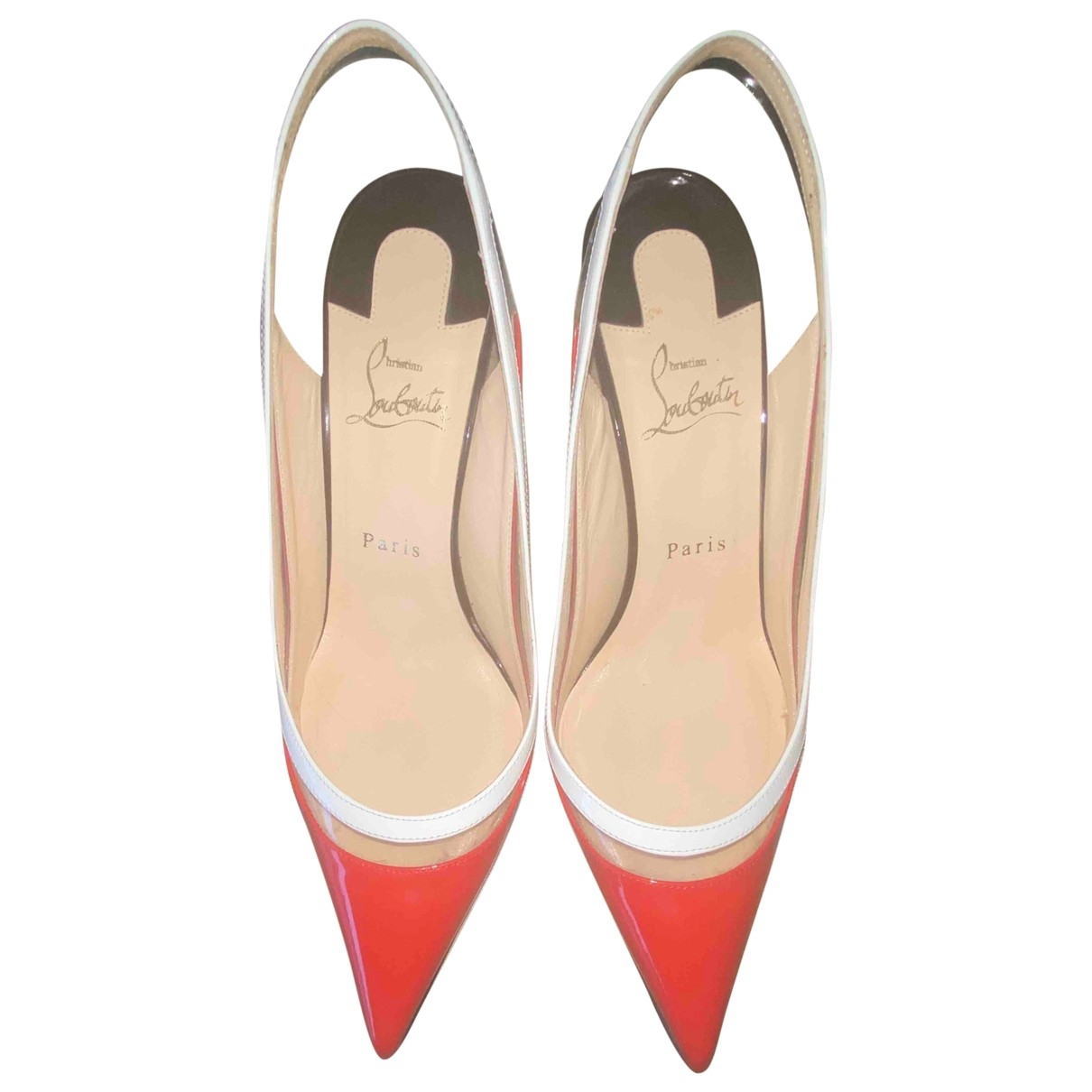 Christian Louboutin \N Multicolour Patent leather Heels for Women 39 EU