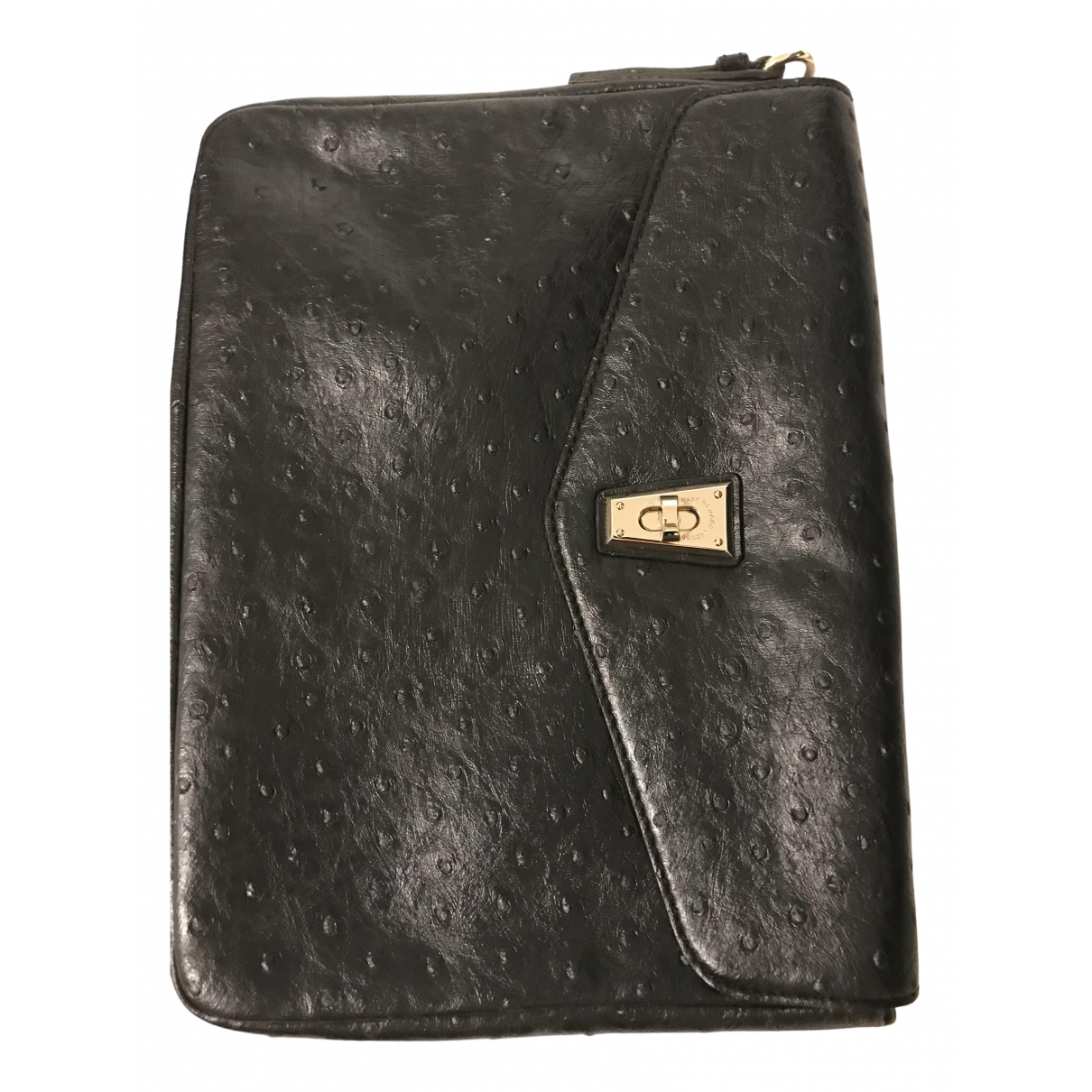 Marc By Marc Jacobs \N Clutch in  Schwarz Kunststoff