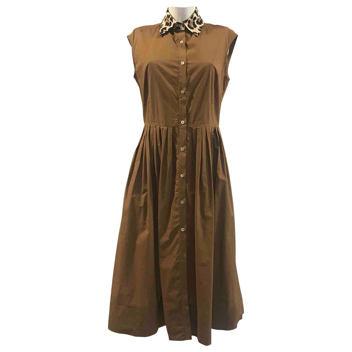 Jucca \N Kleid in  Braun Baumwolle