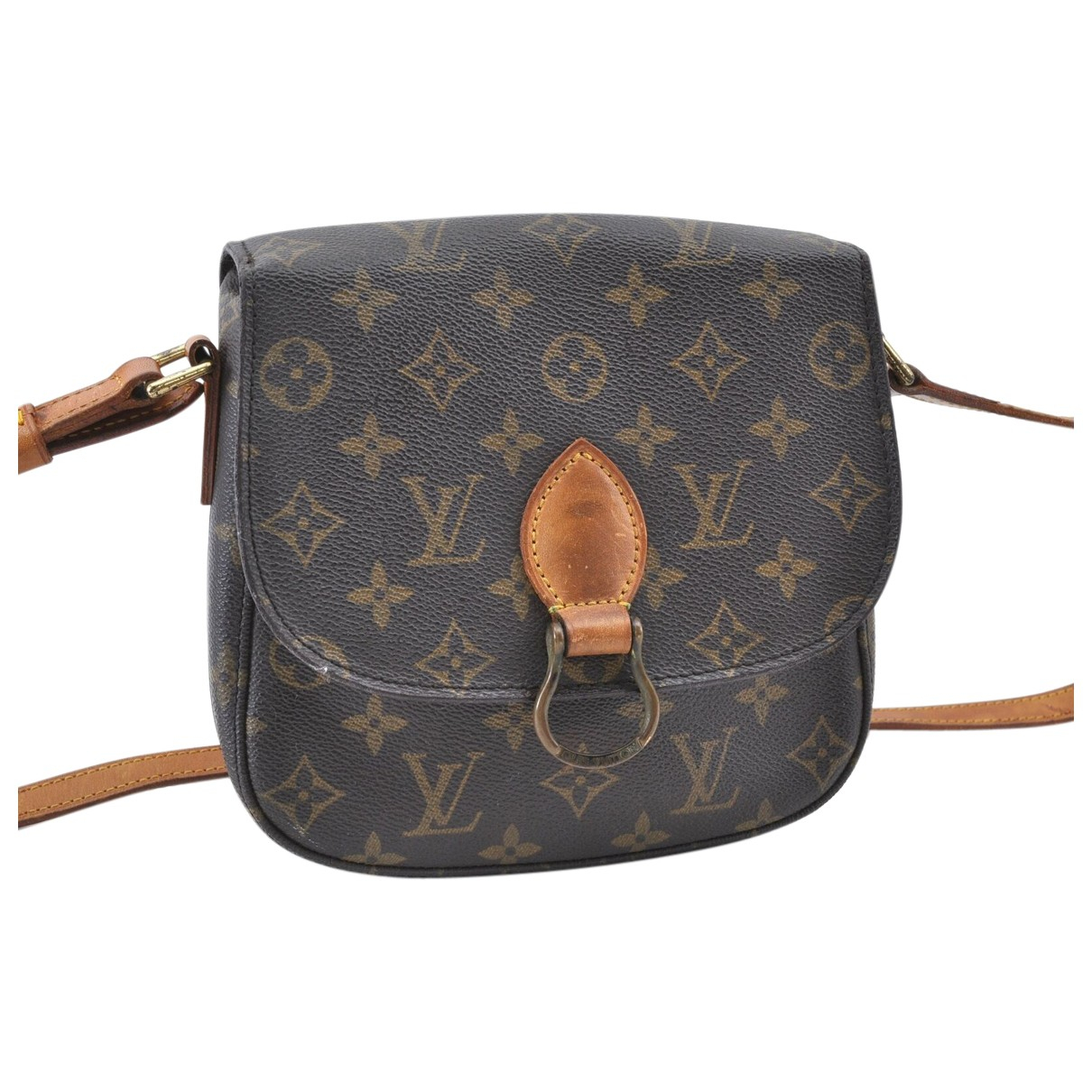 Louis Vuitton Saint Cloud Brown Cloth handbag for Women N