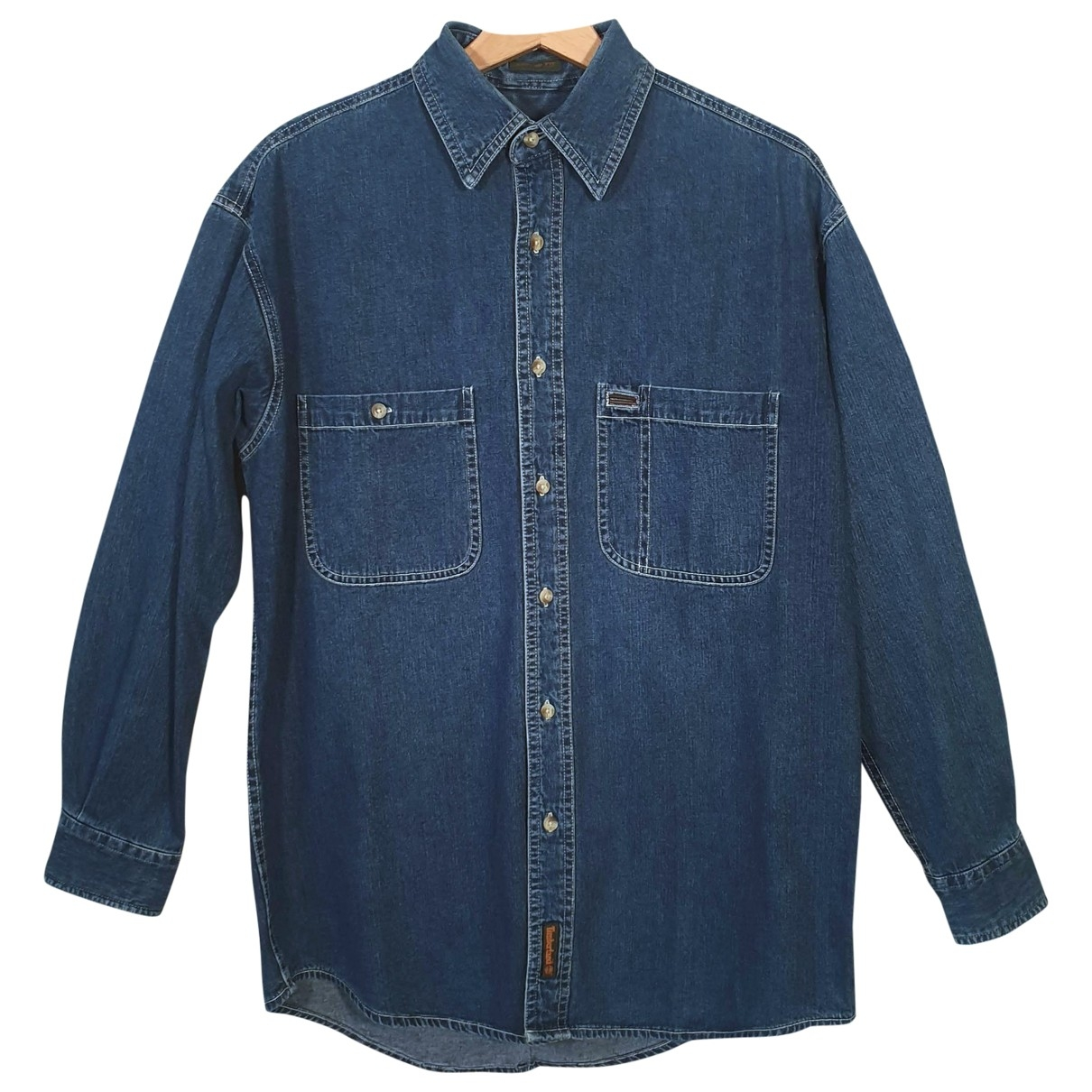 Timberland \N Blue Denim - Jeans Shirts for Men S International