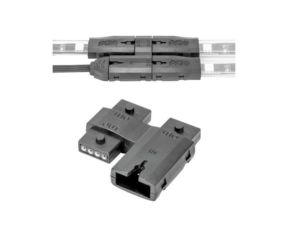 XK Glow XK-4P-SPLIT Splitter Block