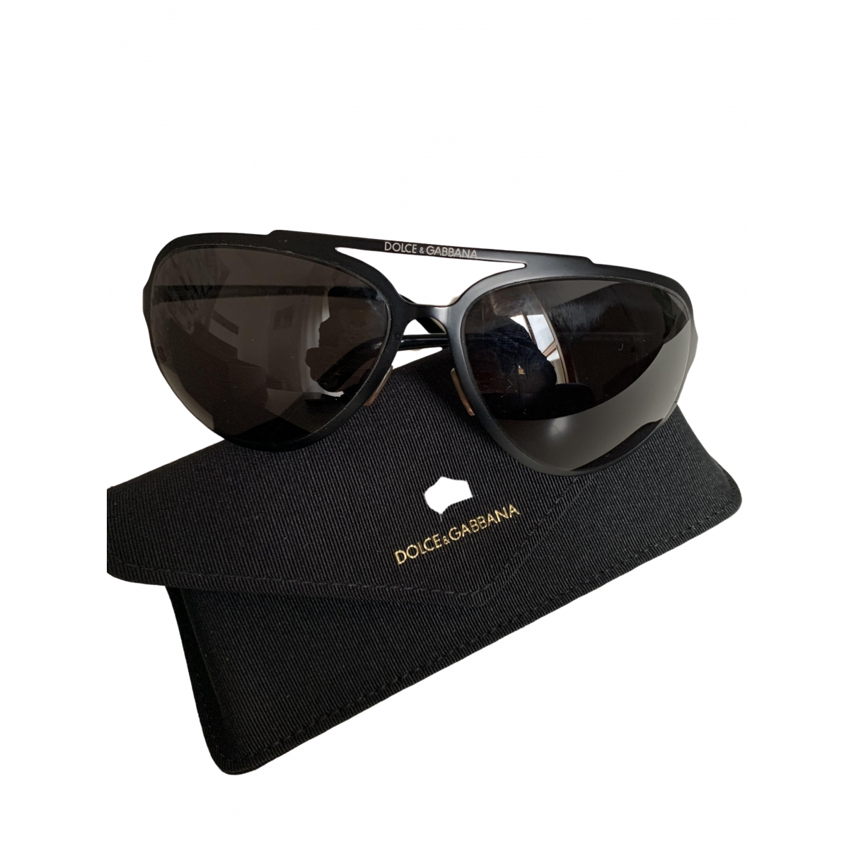 Dolce & Gabbana \N Black Metal Sunglasses for Women \N