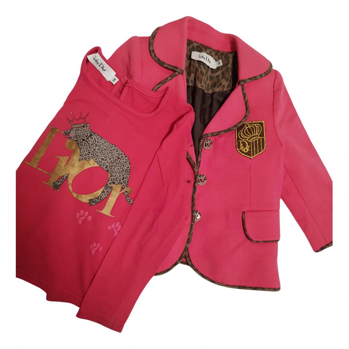 Dior - Les ensembles   pour enfant en coton - rose