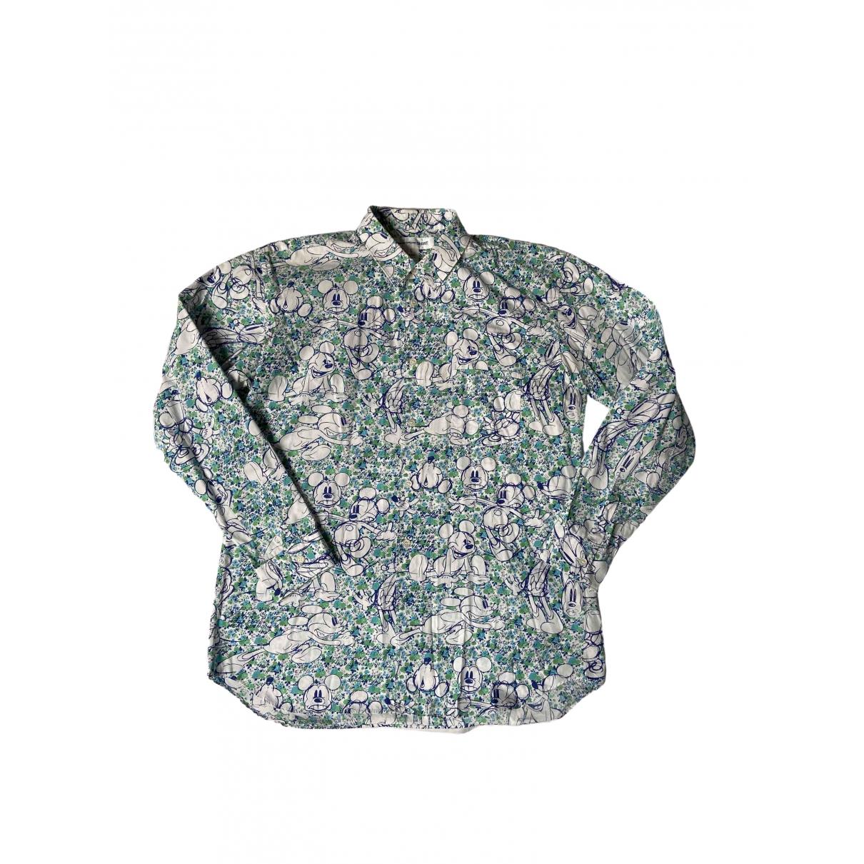 Comme Des Garcons \N Green Cotton Shirts for Men L International