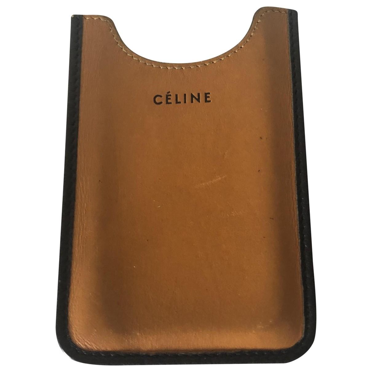 Funda iphone de Cuero Celine