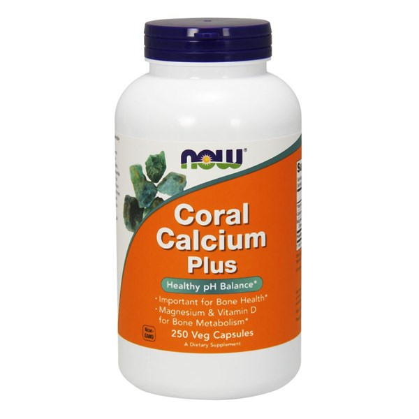Coral Calcium 250 Vcaps by Now Foods