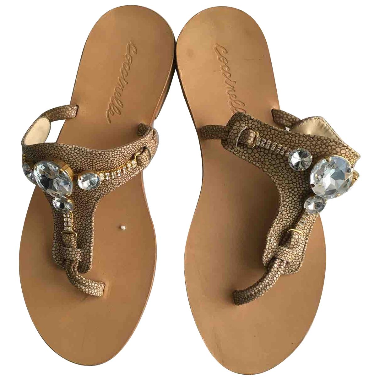 Coccinelle \N Multicolour Leather Sandals for Women 38 EU