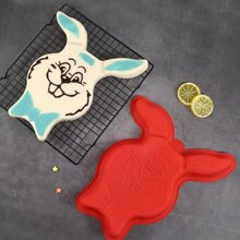 1pc Cartoon Rabbit Shaped Cake Mold