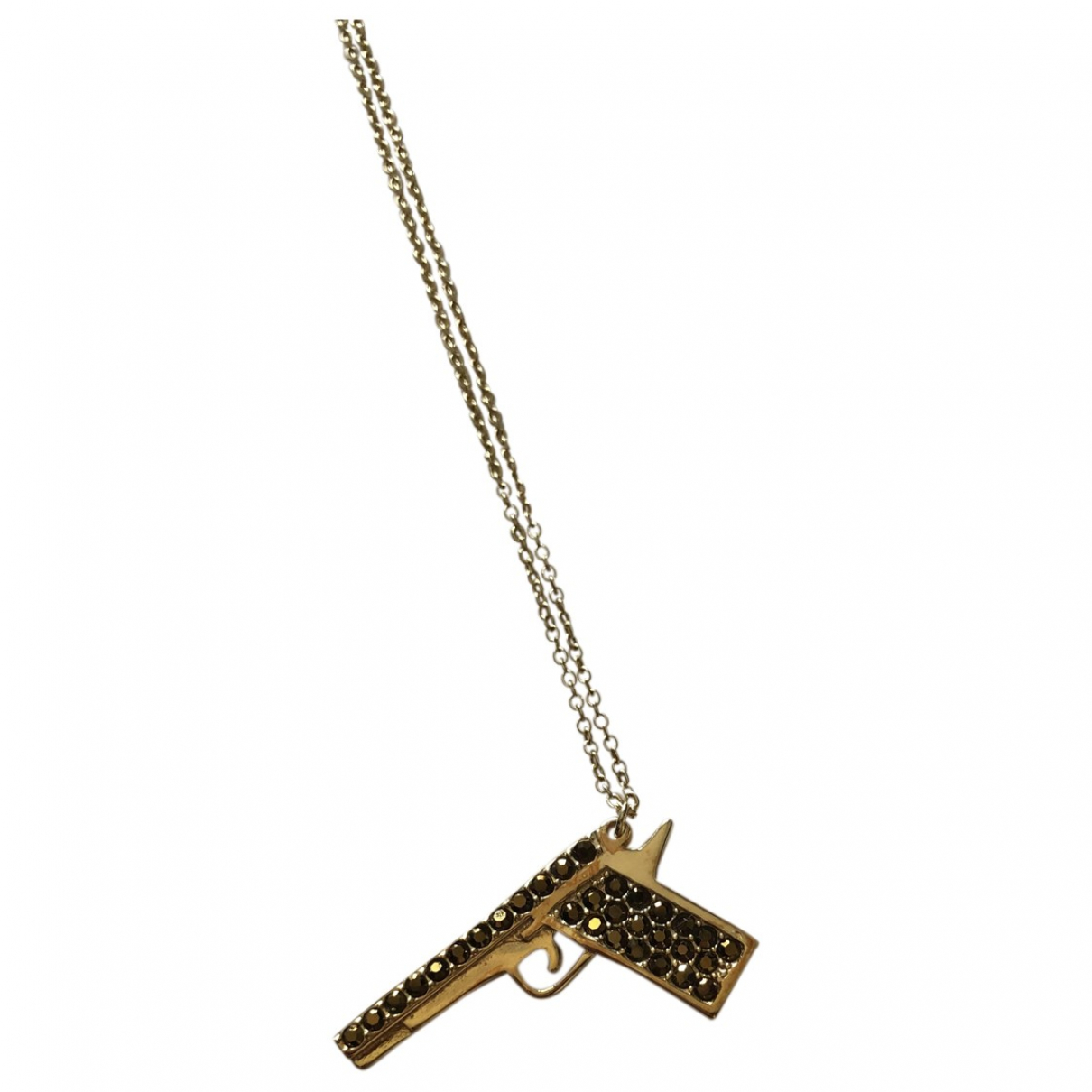Zadig & Voltaire N Gold Silver necklace for Women N