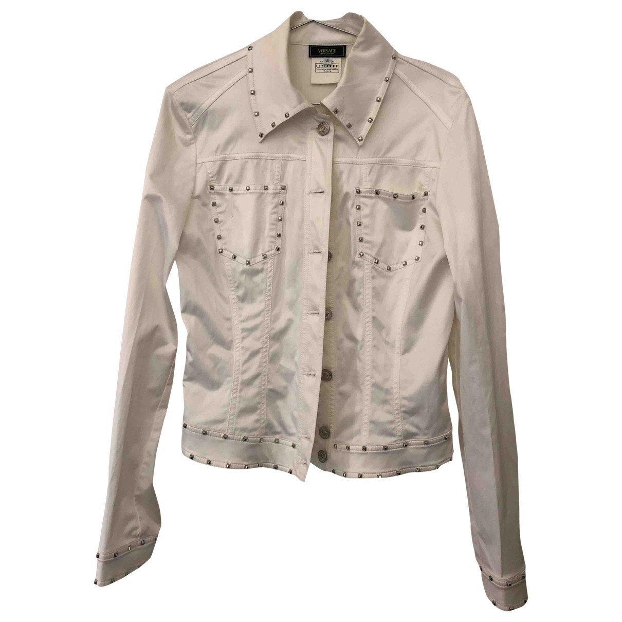 Versace Jeans \N White Cotton jacket for Women S International