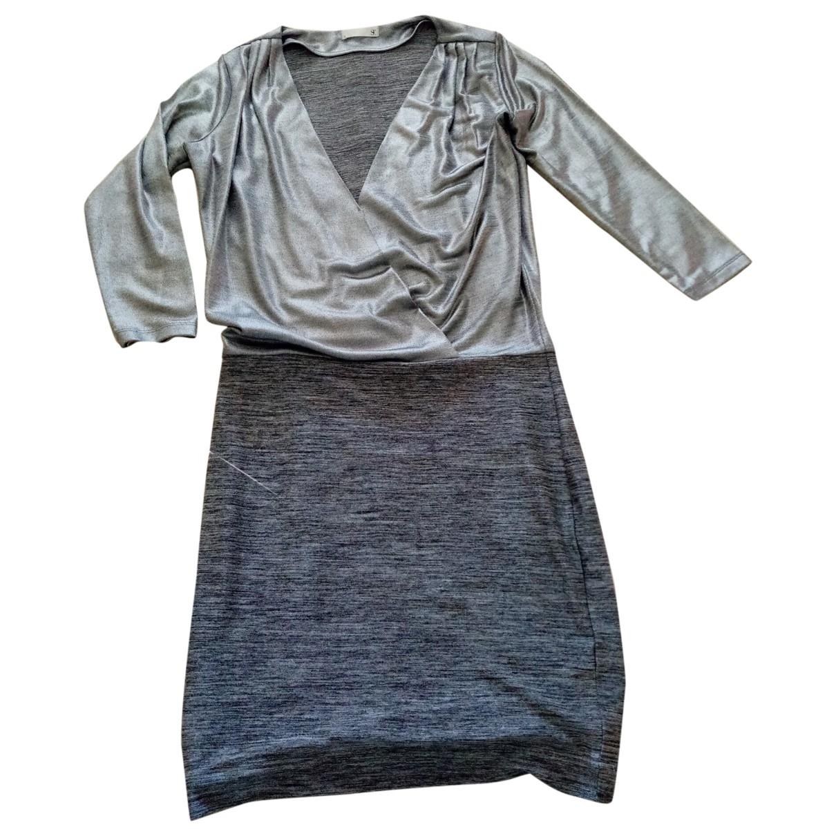 Supertrash - Robe   pour femme - argente