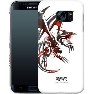 Samsung Galaxy S7 Smartphone Huelle - Red-Eyes B. Dragon von Yu-Gi-Oh!