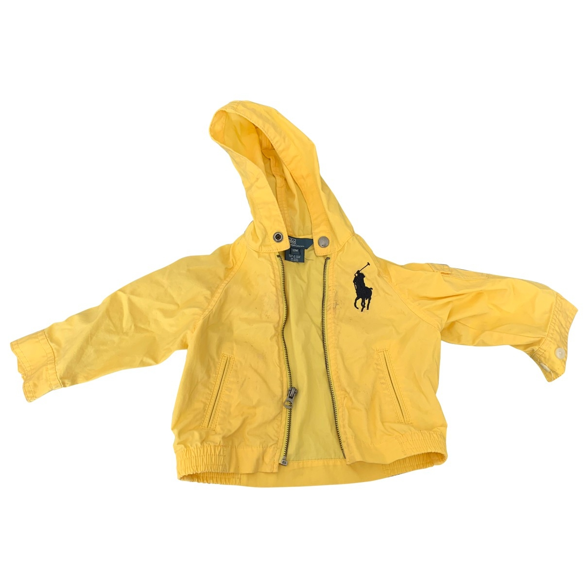 Polo Ralph Lauren \N Jacke, Maentel in  Gelb Polyester