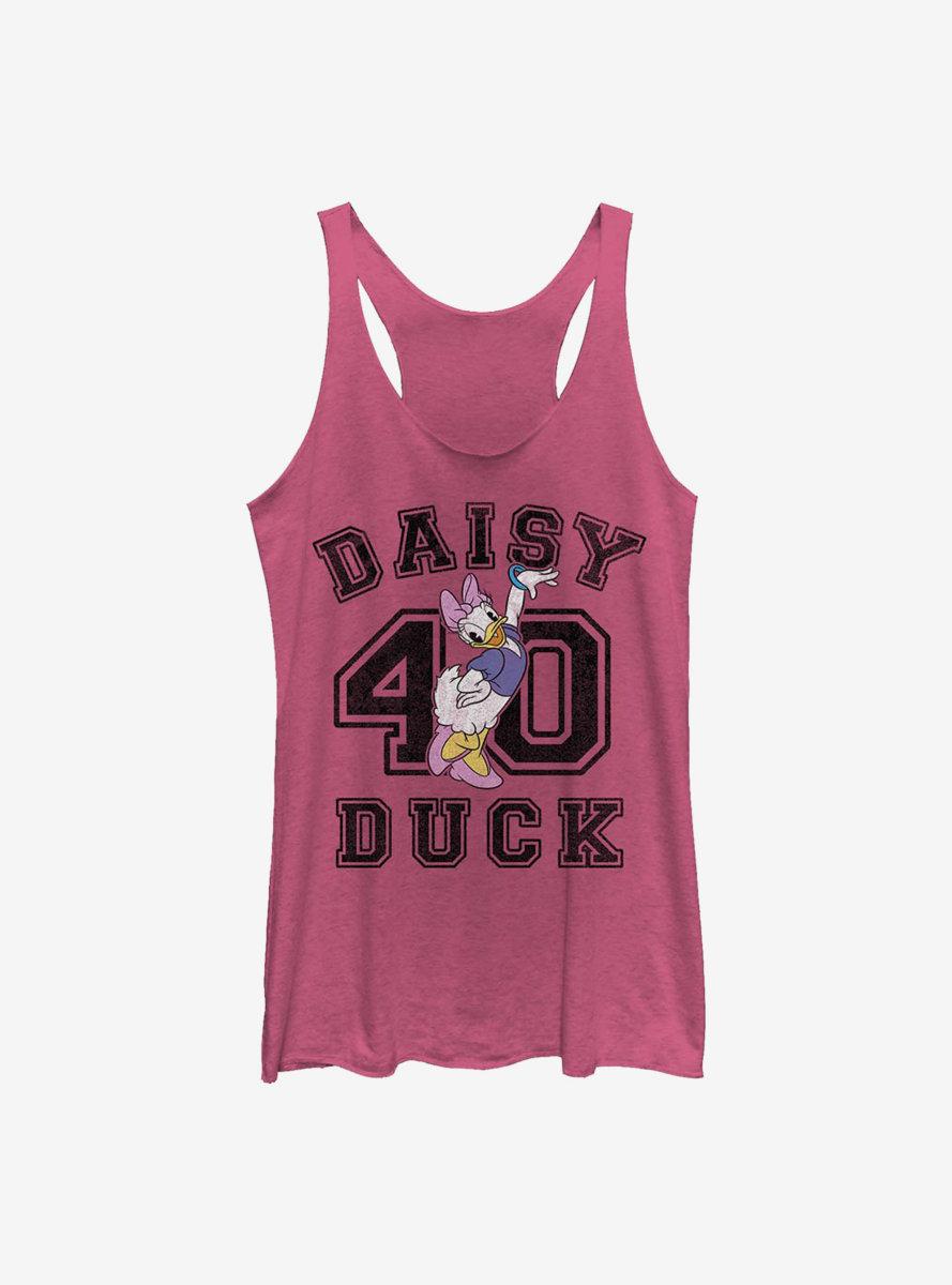 Disney Daisy Duck Classic Collegiate Womens Tank Top
