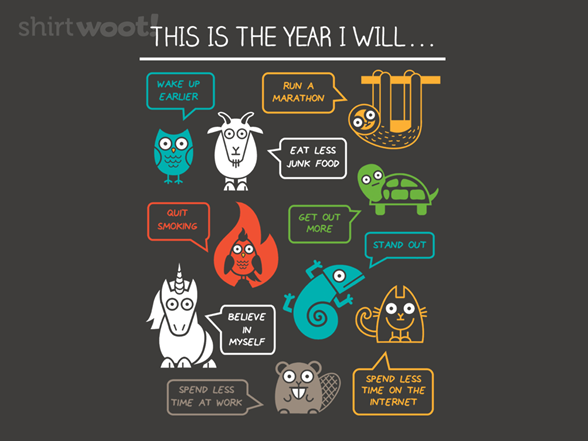 New Year Optimism T Shirt