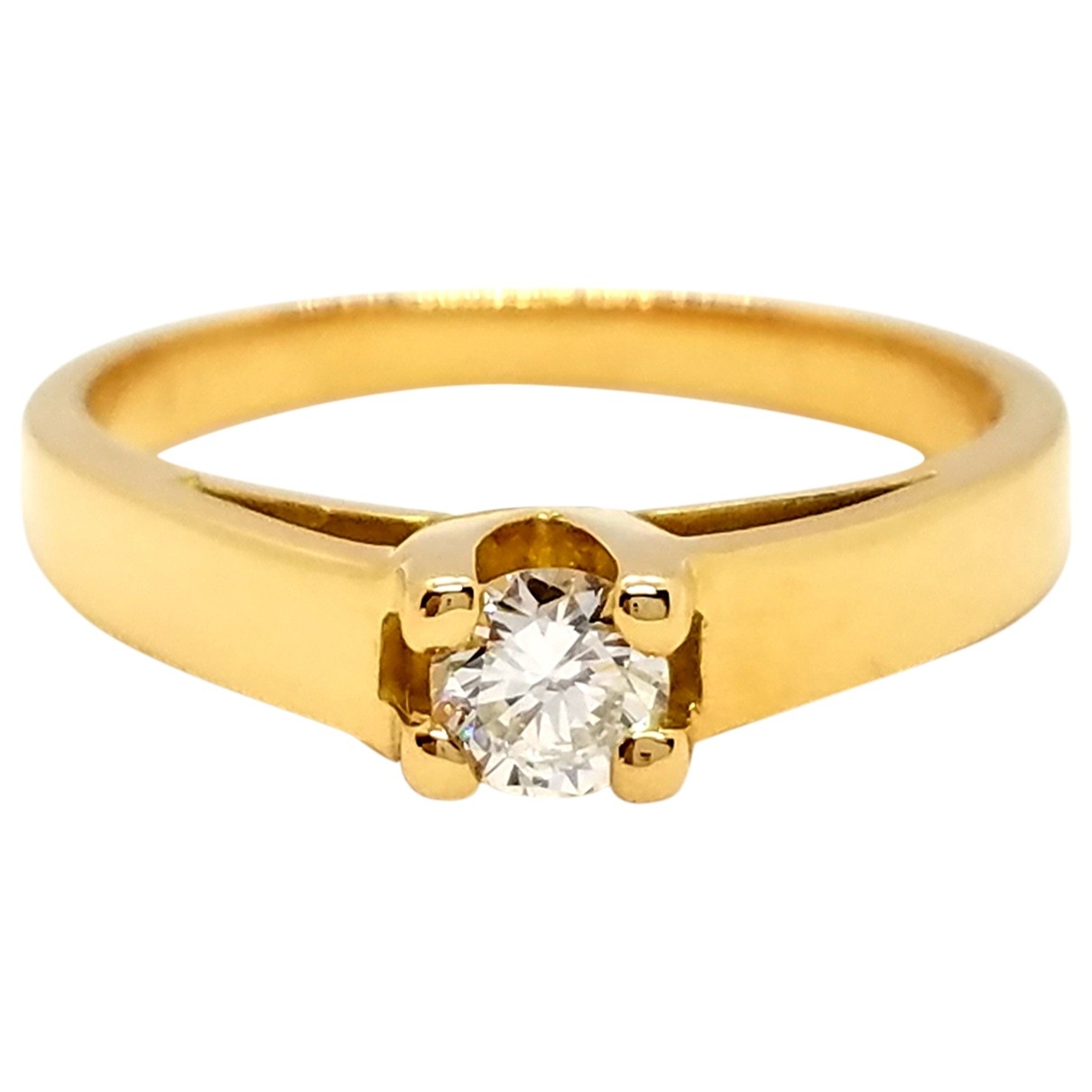 Autre Marque \N Gold Yellow gold ring for Women 57 EU