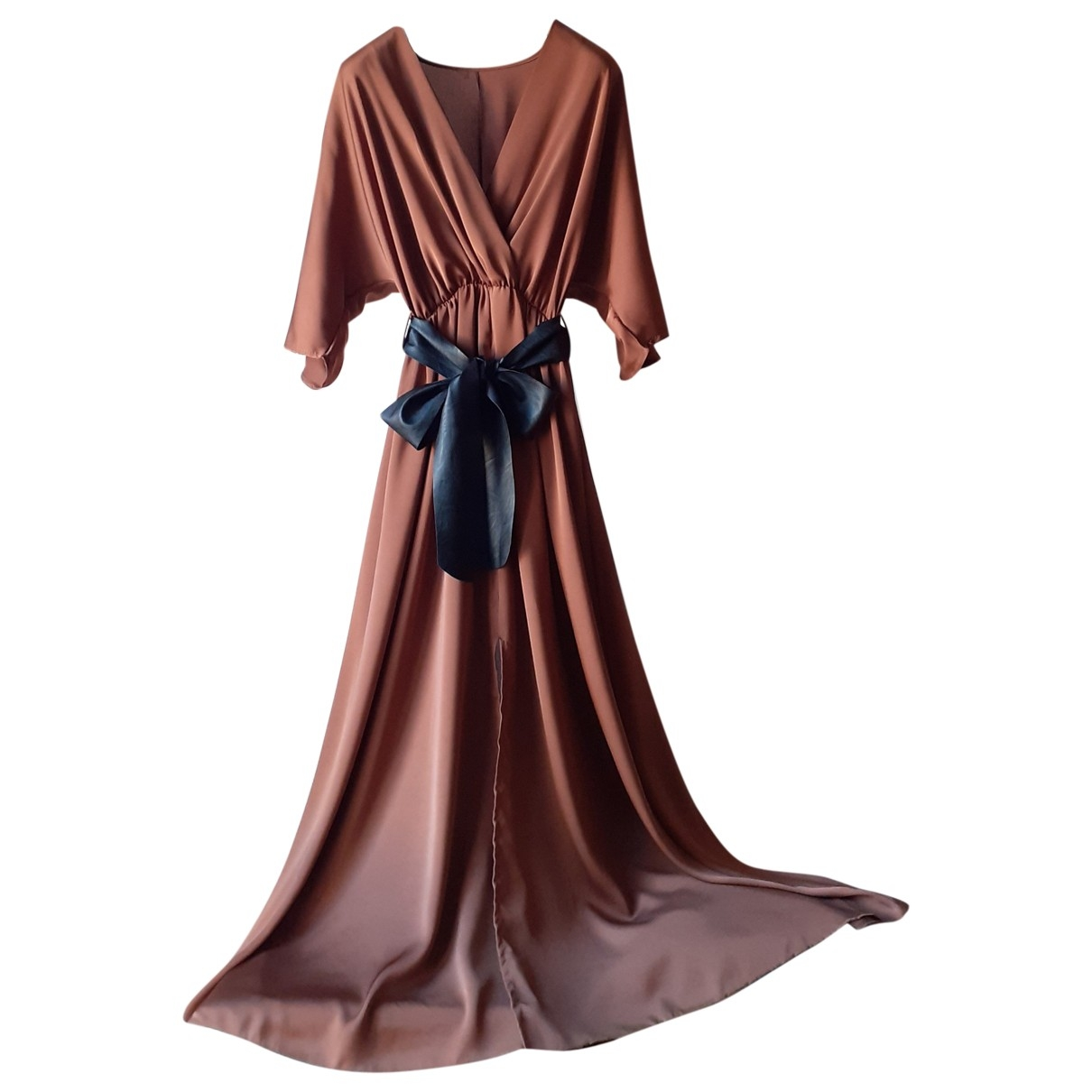 Non Signé / Unsigned \N Brown dress for Women One Size IT