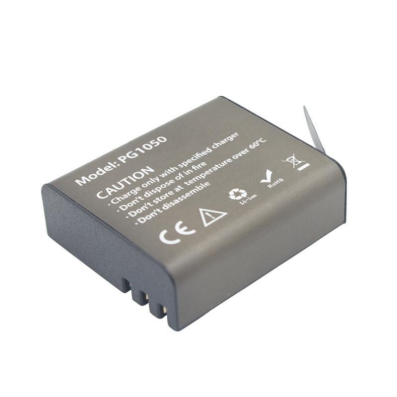 3.7V 1050mAh Action Camera Battery For EKEN H9 H9R H3 H3R H8PRO H8R H8 SJ4000 SJCAM SJ5000 SJ5000X PG1050 Rechargeable B