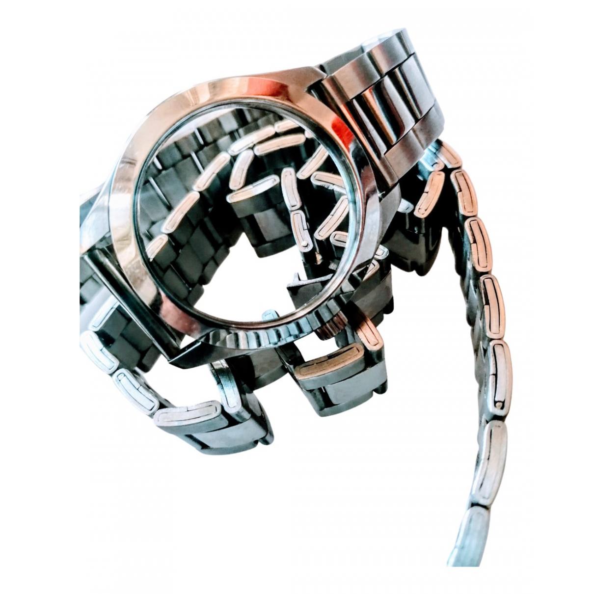 Maison Martin Margiela Pour H&m - Ceinture   pour femme en metal - argente