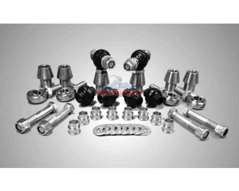 Steinjager J0005986 Rod Ends Set 0.75-16 for 1.750 OD x .120 Ball ID 3HSS-28120-12-12-TT-ZZ 0.75-16 x 0.75