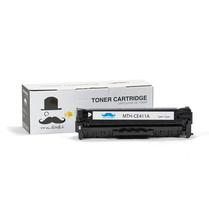 Compatible HP 305A CE411A Cyan Toner Cartridge - Moustache@