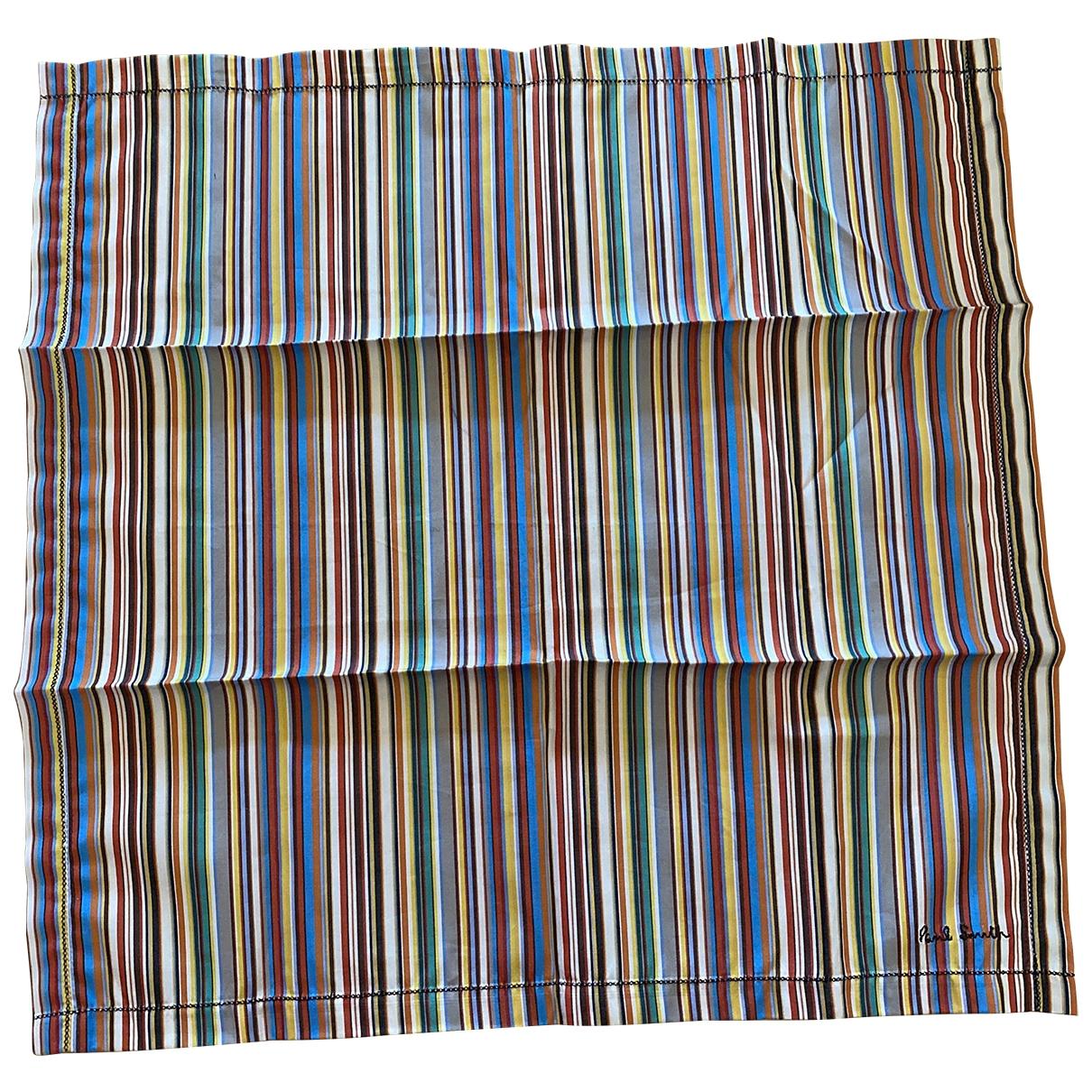Paul Smith \N Multicolour Cotton scarf & pocket squares for Men \N