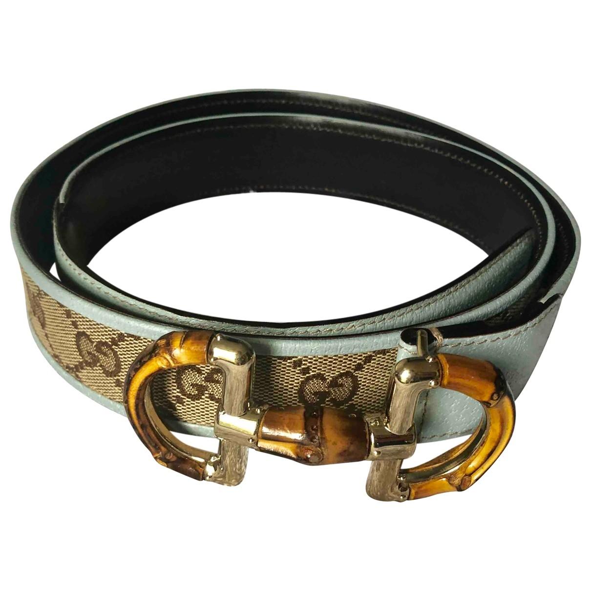 Cinturon de Lona Gucci
