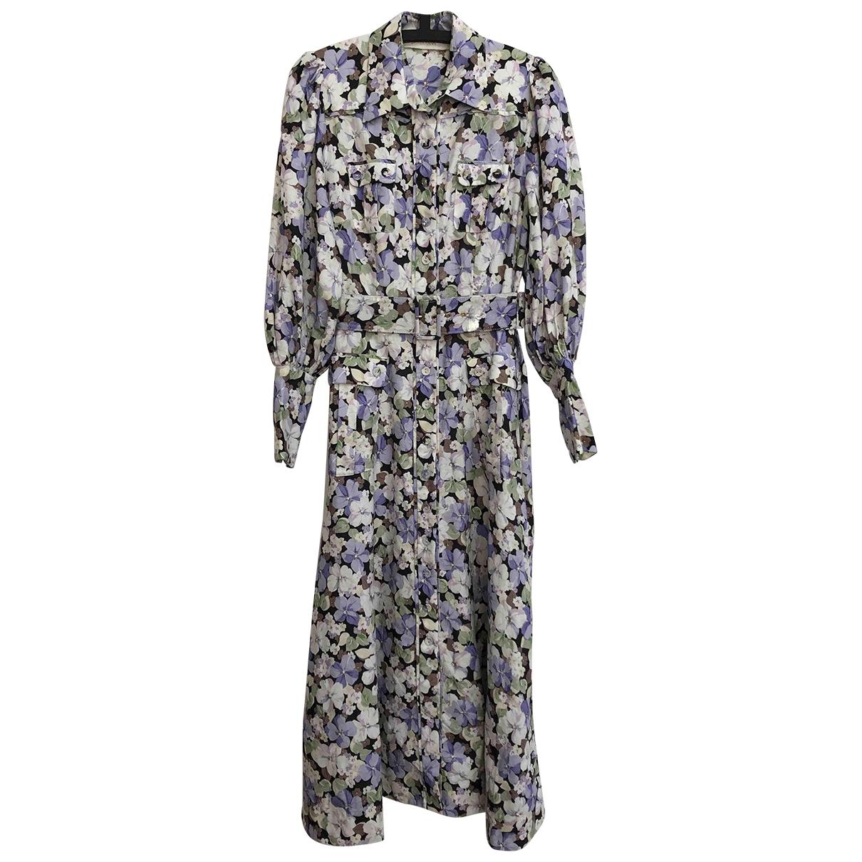 Zimmermann - Robe   pour femme en lin - violet